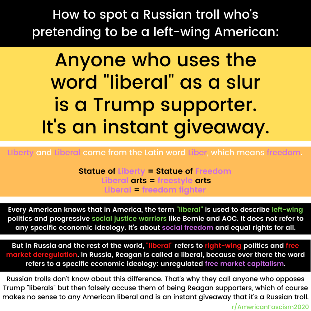 russian trolls on social media